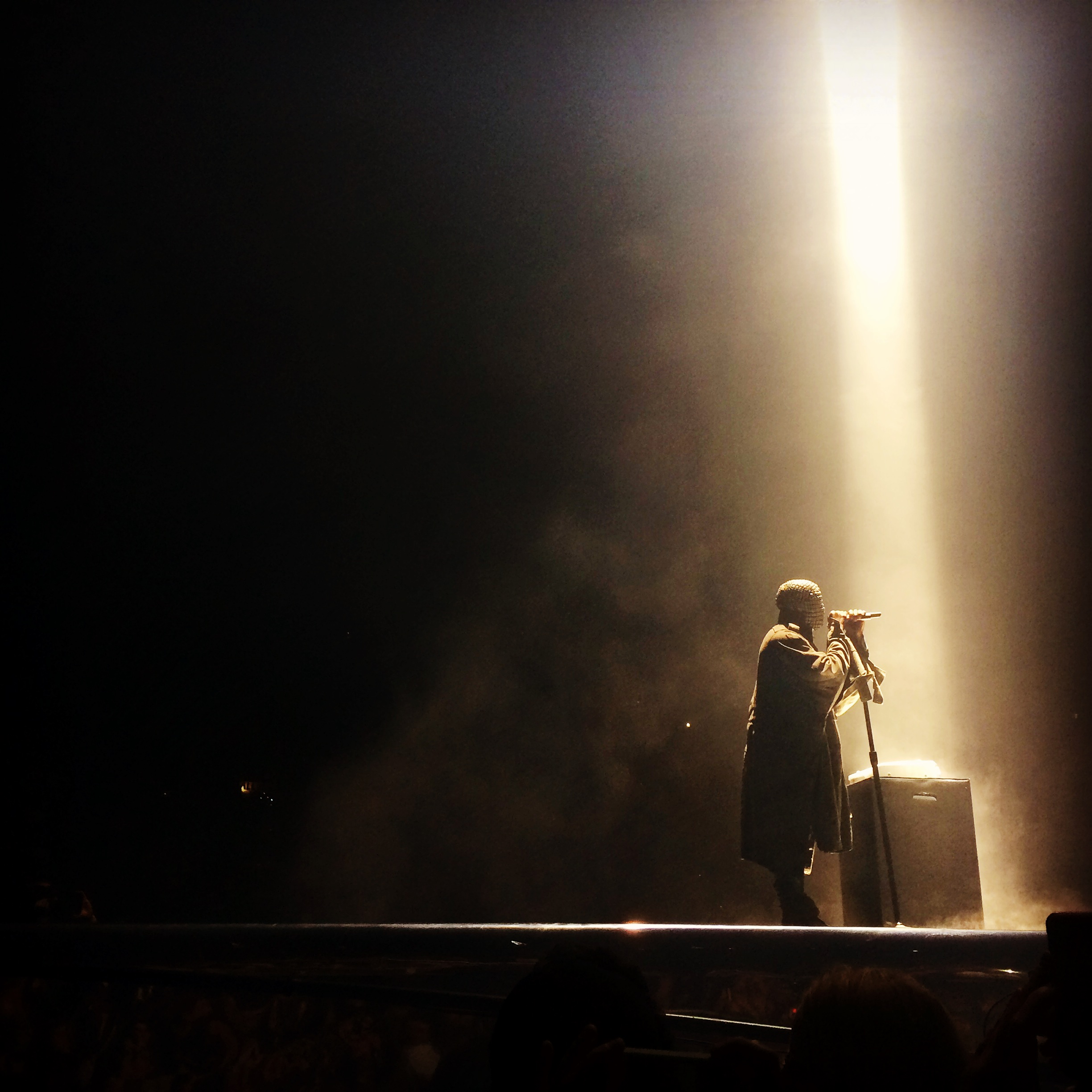 Kanye West concert review All hail Yeezus The City Journal