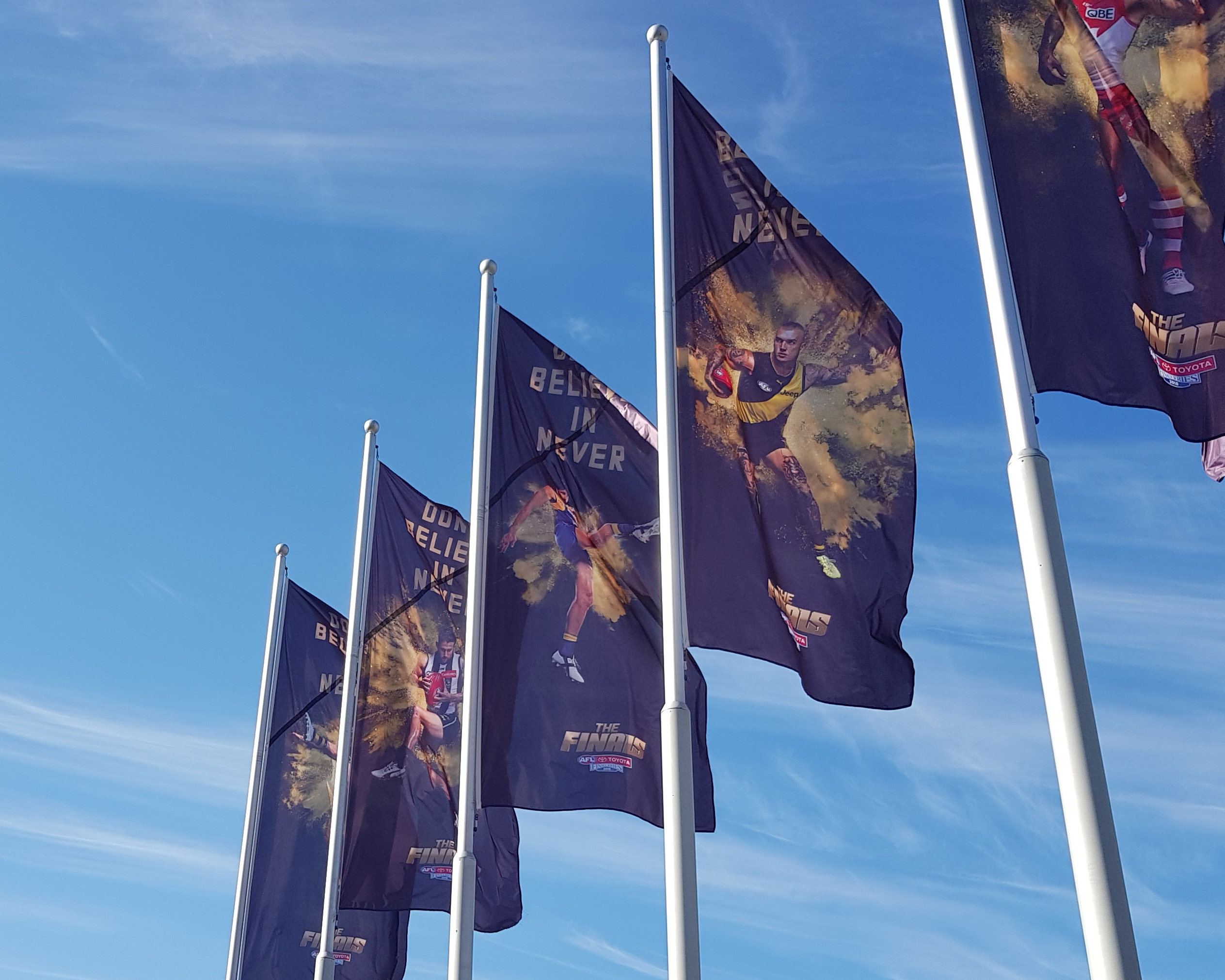 Featured Image Flags Advertising The